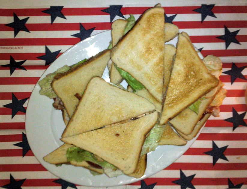 Star spangled: köstlich, und praktisch – Sandwiches.